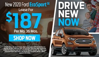 2020 FORD ECOSPORT SE  SUV  LEASE FOR $187 PER MONTH FOR 36 MONTHS