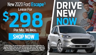 2020 FORD ESCAPE S  LEASE FOR $298 PER MONTH FOR 36 MONTHS