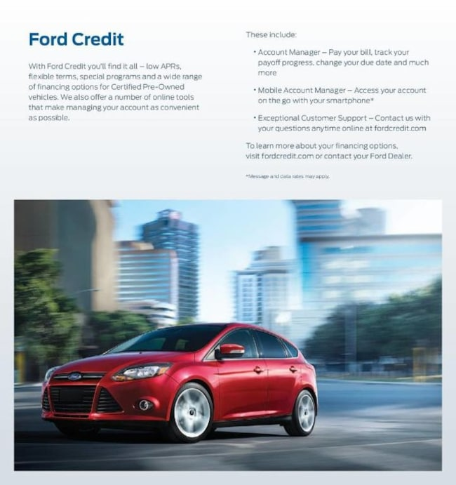 Payoff Address For Ford Motor Credit