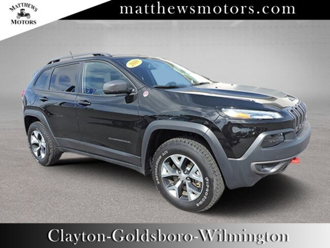 2018 Jeep Cherokee Trailhawk 4WD SUV
