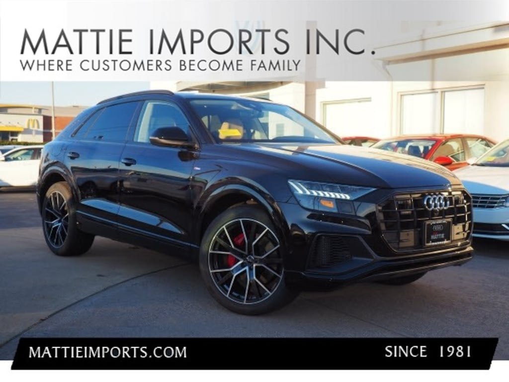 New 2019 Audi Q8 For Sale At Mattie Audi Vin Wa1fvaf11kd010432