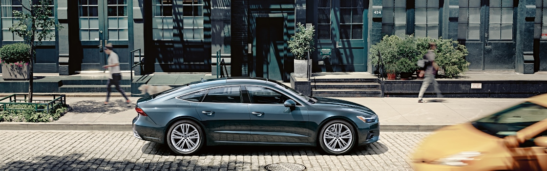 New Luxury Audi A7 Sedan