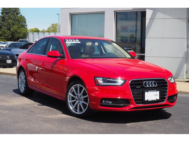 Audi A4 2.0 T >> Used 2016 Audi A4 For Sale In Bristol County Vin Wauffafl5gn000523