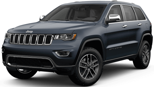 Picture of a 2019 Jeep Grand Cherokee Limited silver exterior