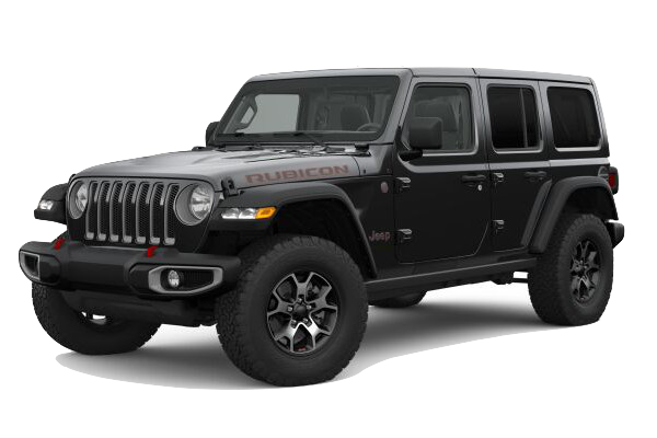 Picture of the 2019 Jeep Wrangler Rubicon black