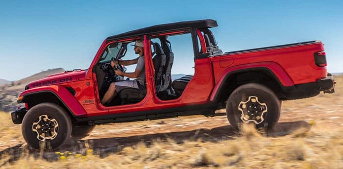 The All New 2020 Jeep Gladiator Pickup Specs Towing And