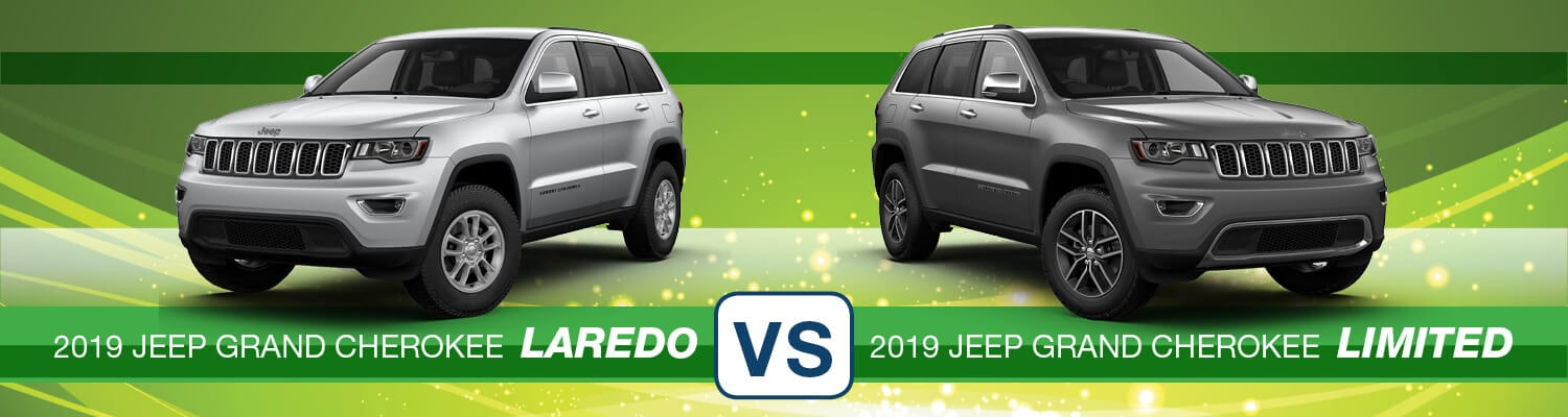 2019 Jeep Grand Cherokee Laredo vs. Limited