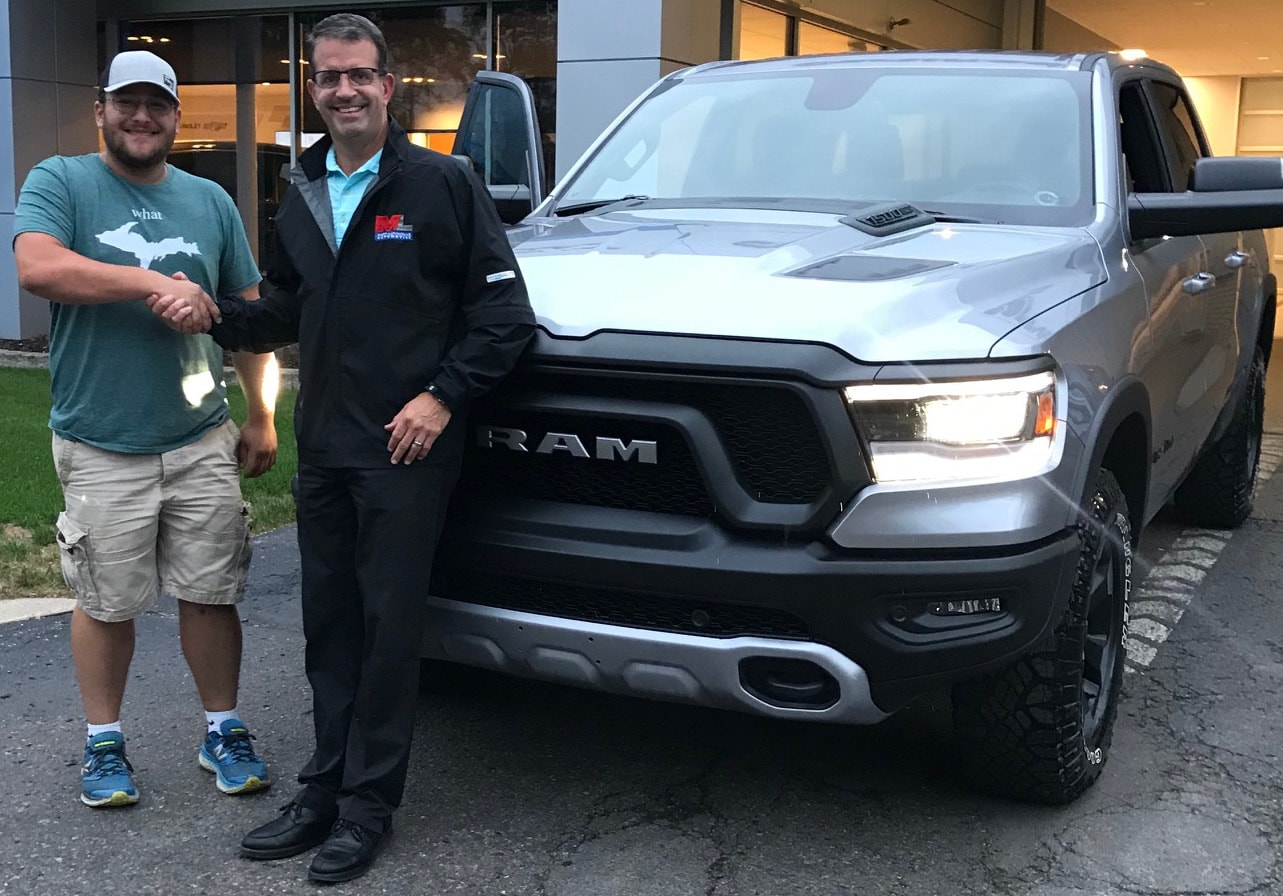2019 Ram Rebel Delivery