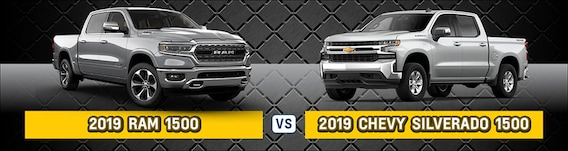 2019 Ram 1500 vs  2019 Chevy Silverado 1500 | Which Truck is