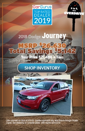 September 2018 Dodge Journey Offer