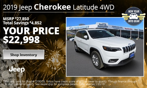 January '19 Cherokee Offer