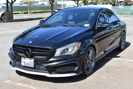 Featured Used 2015 Mercedes-Benz CLA 45 4MATIC Coupe for Sale in Kahului, HI