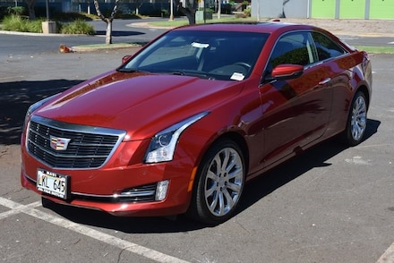Featured Used 2019 CADILLAC ATS 3.6L Premium Luxury Coupe for Sale in Kahului, HI