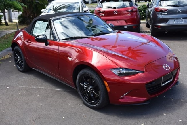 New 2019 Mazda Mazda MX-5 Miata Sport Convertible For Sale/Lease Kahului, HI
