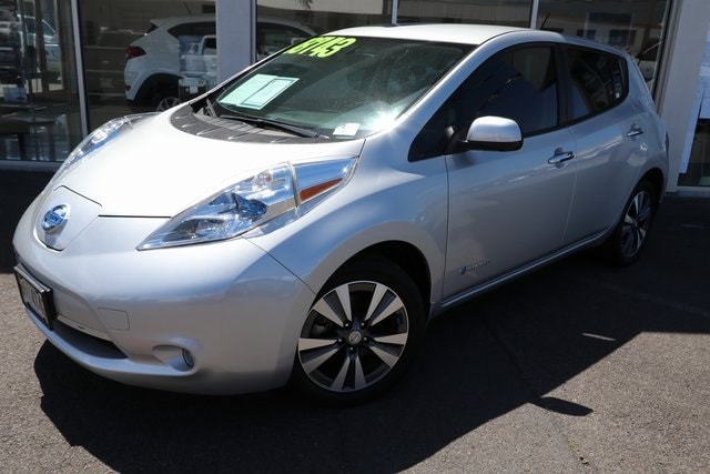 Featured Used 2015 Nissan LEAF SL Hatchback for sale near you in Kahului, HI