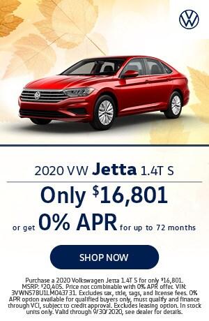 2020 Jetta Offer