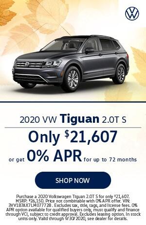 2020 Tiguan Offer