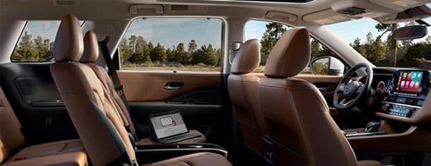 The 2022 Nissan Pathfinder Platinum Interior Details Post
