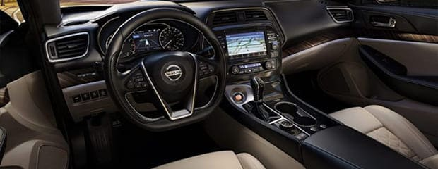 Interior Features of the 2021 Nissan Maxima Post