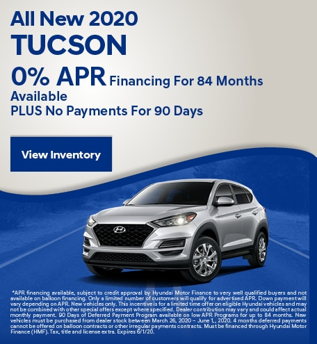 May All New 2020 Tucson
