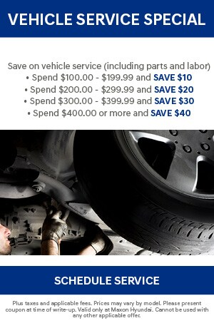 Vehicle Service Special
