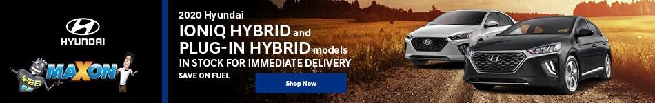 November 2020 Hyundai Ioniq Hybrid & Plug-In