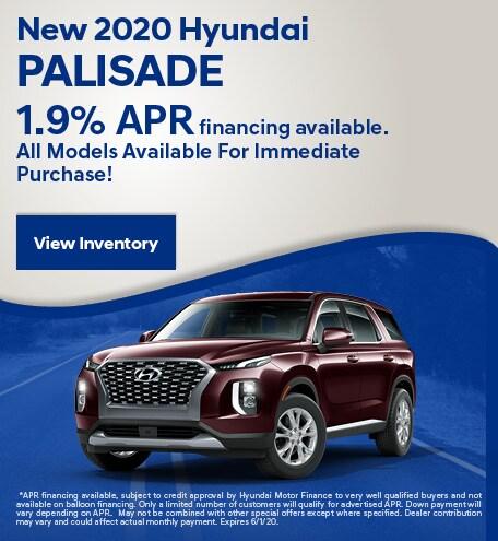 May New 2020 Hyundai Palisade