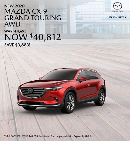 New 2020 Mazda CX-9 Grand Touring AWD