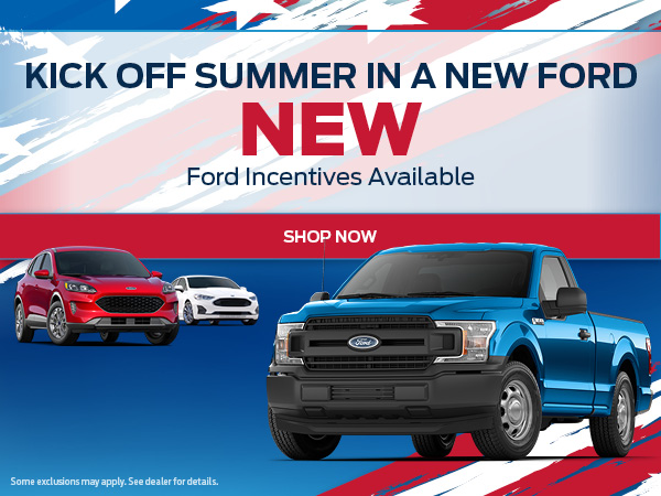 Kick Off Summer In a New Ford