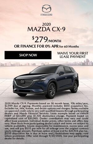 2020 Mazda CX-9 Lease