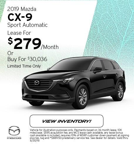 2019 Mazda CX-9 Sport Automatic