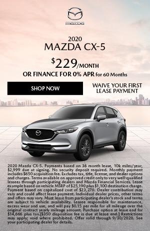 2020 Mazda CX-5 Lease