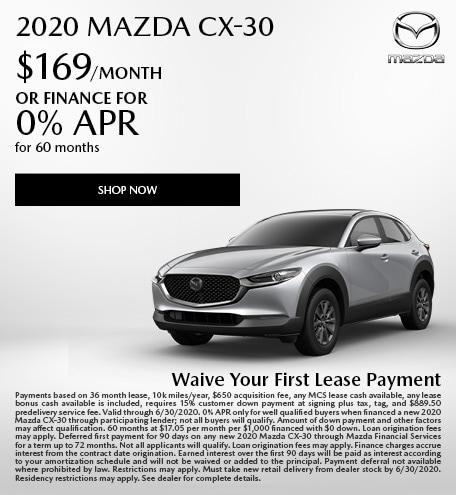 2020 Mazda CX-30 Lease