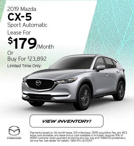 2019 Mazda CX-5 Sport Automatic