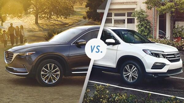 Comparison: 2018 Mazda CX-9 vs 2018 Honda Pilot