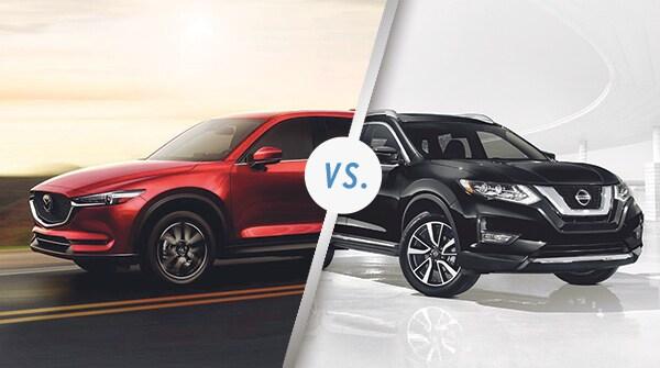 Comparison: 2018 Mazda CX-5 vs 2018 Nissan Rogue