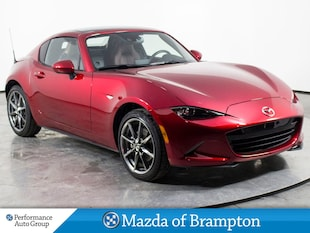 2018 Mazda MX-5 RF GT. NAVI. HTD SEATS. PUSH-START. DEMO UNIT Convertible