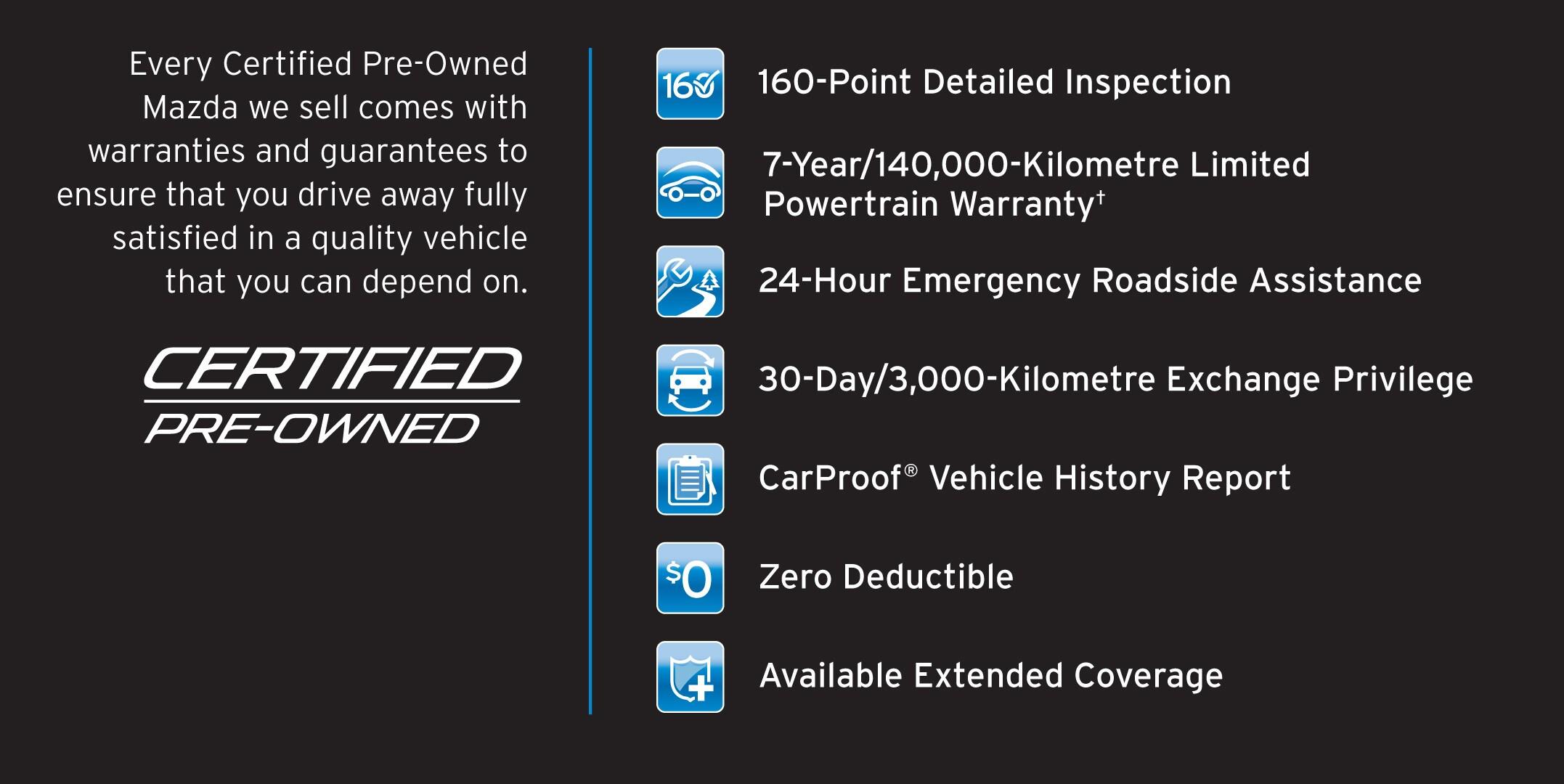 Mazda Certified Pre owned