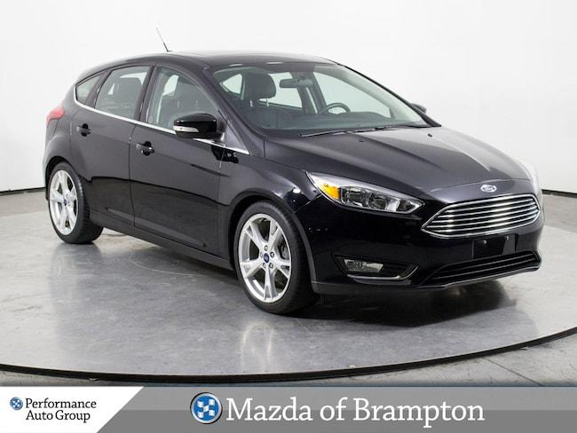 2016 Ford Focus TITANIUM. NAVI. CAMERA. ROOF. HTD SEATS Hatchback
