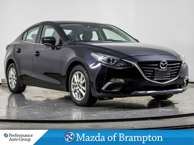 2016 Mazda Mazda3 GS. BLUETOOTH. KEYLESS. CAMERA. ALLOYS Sedan