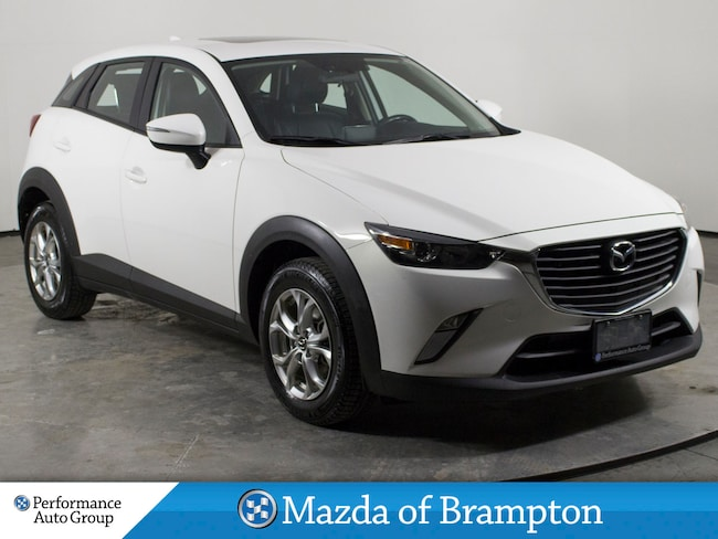 2016 Mazda CX-3 GS. NAVI. CAMERA. HTD SEATS. PUSH-START. ROOF SUV