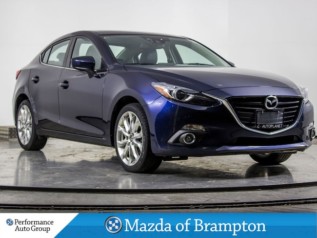2015 Mazda Mazda3 GT. NAVI. CAMERA. HTD SEATS. BOSE SOUND SYSTEM Sedan