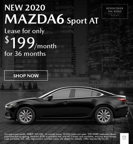 New 2020 MAZDA6 Sport AT