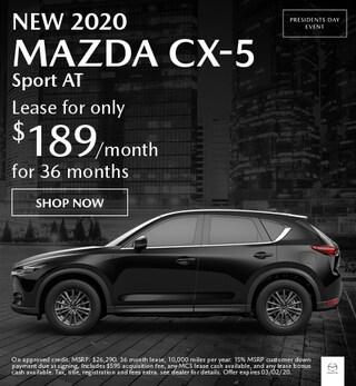 New 2020 Mazda CX-5 Sport AT