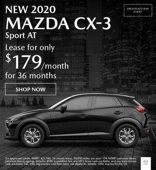 New 2020 MAZDA CX-3 Sport AT