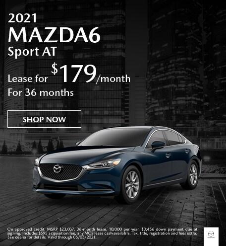 2021 MAZDA6 Sport AT