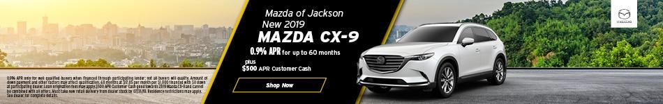 2019 Mazda CX-9 August Offer