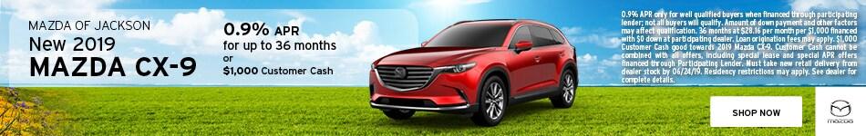2019 Mazda CX-9 June Offer