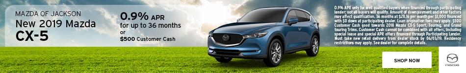 2019 Mazda CX-5 May Offer