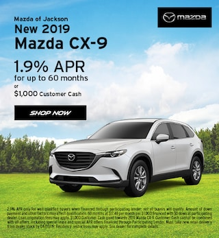 2019 Mazda CX-9 April Offer
